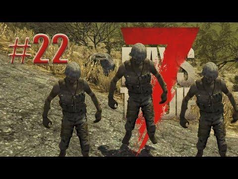 7 Days to die   May horde na military #22 (TAGALOG)