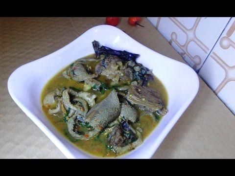 How To Make Nsala Soup   Nigeria Ofe Nsala (white soup)