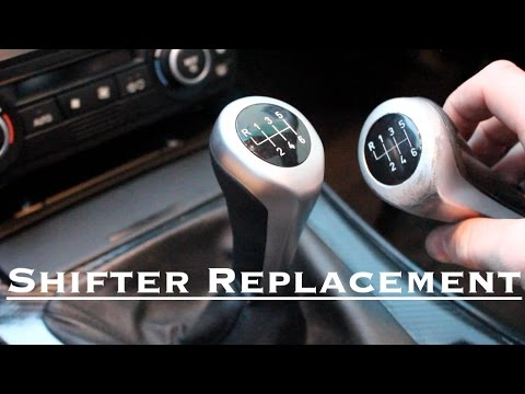 BMW Shift Knob Replacement // All BMW Models