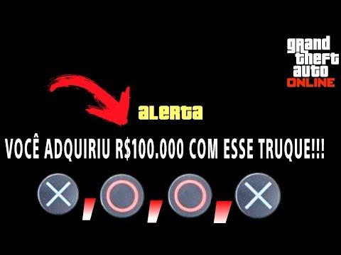 Truque para ficar MILIONÁRIO no GTA 5 Online RÁPIDO e FÁCIL (100 MIL EM 10 MIN.)