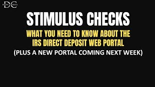 IRS Direct Deposit Portal: What You Need To Know