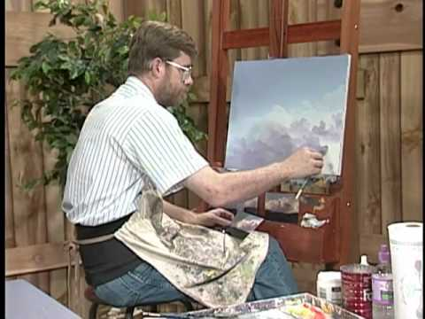 Painting clouds and thunderheads with Jerry Yarnell