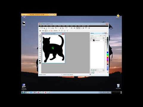 How to make white background transparent in Corel Photo-Paint