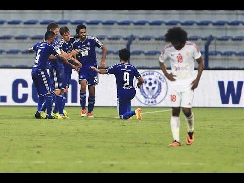 Football Match between Al Sharjah SC vs Al Nassr Dubai
