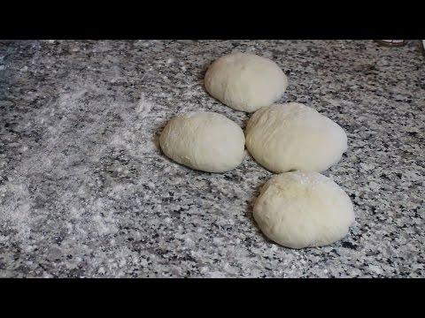 Simple Pizza Dough for a Crispy Crust