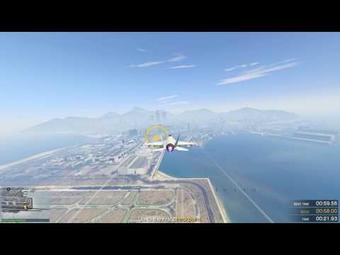 GTAV, Flight School Lesson 1, Outside Loop