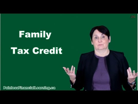 Family Tax Credit in Canada