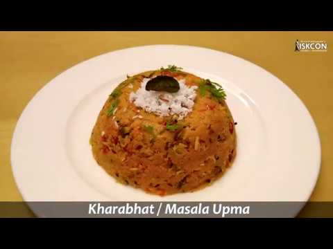 Masala Upma l Kharabhat l Sattvic Recipes