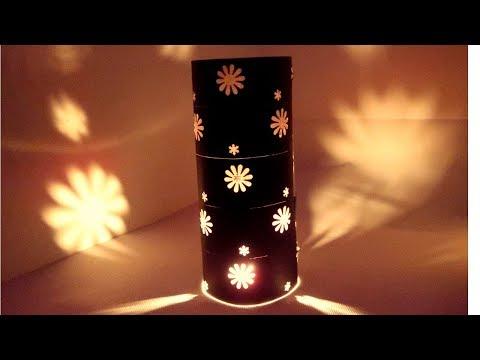 DIY PAPER LAMPSHADE | DIWALI CRAFT | DIWALI DECORATION IDEAS | PAPER LANTERN | CREATIVE MOM TANU