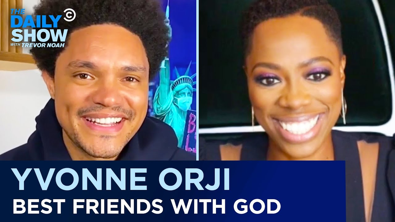 """Yvonne Orji - Faith in God Without Compromise & Life After """"Insecure""""   The Daily Show"""