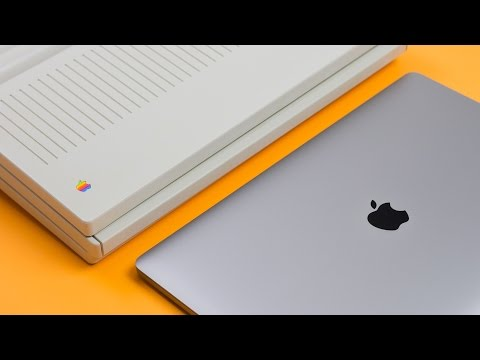 MacBook Pro vs FIRST Apple Laptop! (MacBook Pro With Touch Bar)