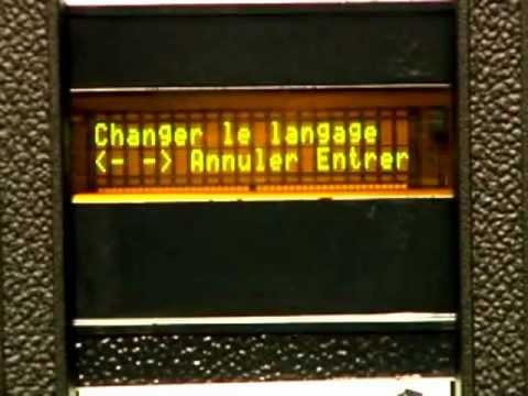 #30 Changer la langue du français pour l'anglais / Change french for english language