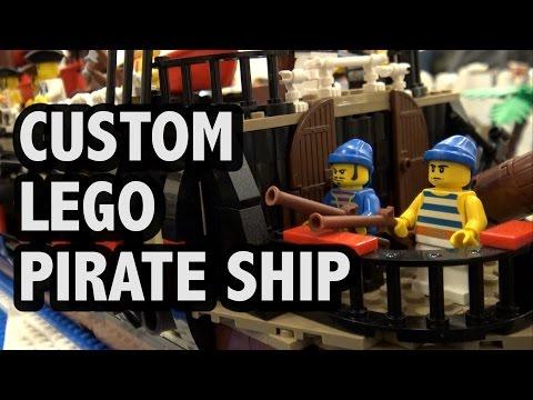 Mechanical LEGO Pirate Ship Minotaurus | BrickCon 2016