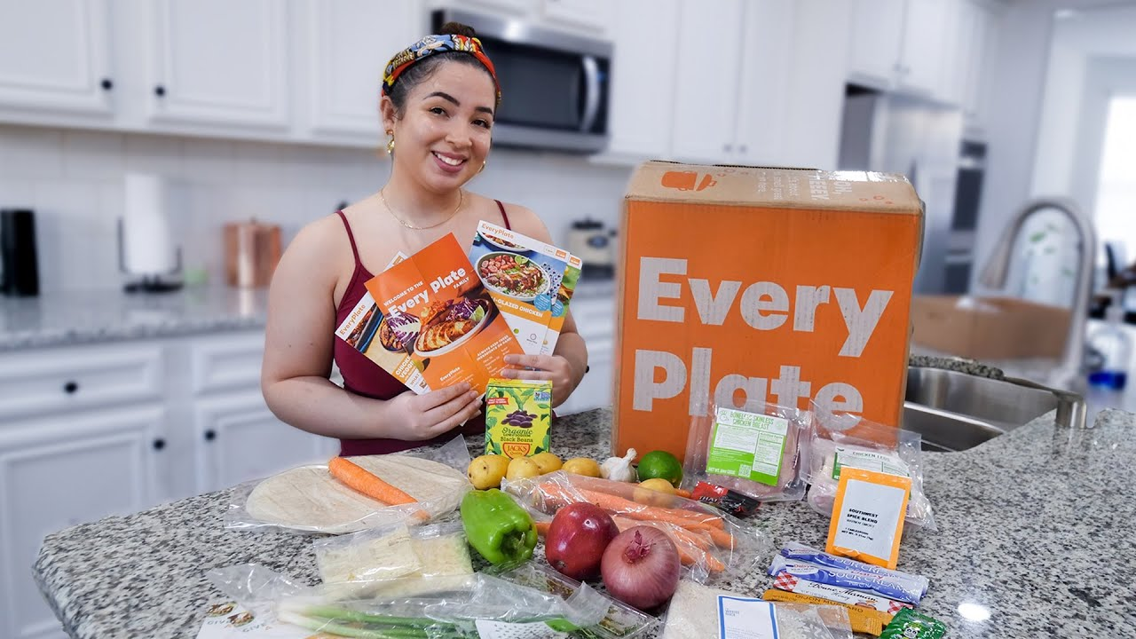 I tried EVERYPLATE meal kits for ONE WEEK