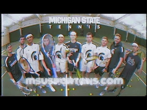 2018 Michigan State Men's Tennis