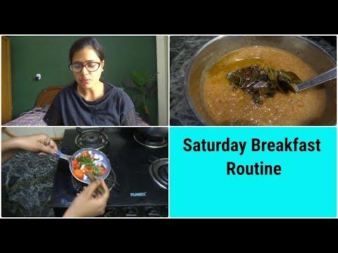 Saturday Breakfast Routine || Indian mom Breakfast Routine || Indian housewife morning Routine ||