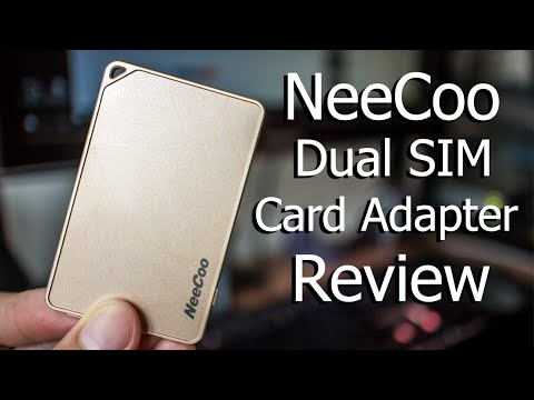NeeCoo Me2 Review Dual SIM Card Adapter | iPhone
