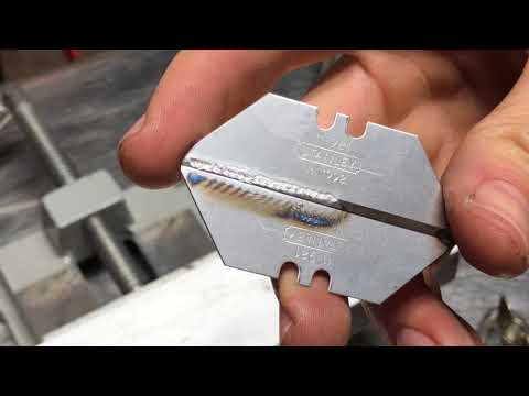 TIG Welding thin sheet metal settings