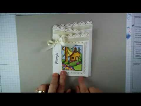 Z fold card  video