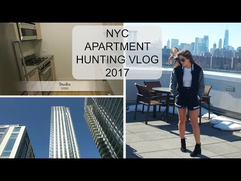 NYC APARTMENT HUNTING VLOG 2017 + PRICES