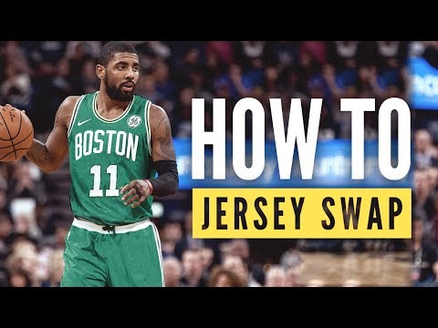 Basketball Jersey Swap Tutorial
