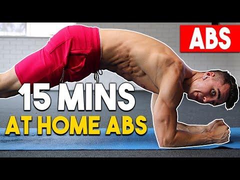 15min Home AB WORKOUT   Ab Shredder Workout
