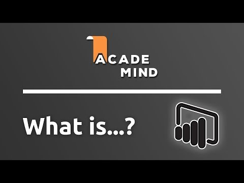 What is Power BI - academind.com Snippet