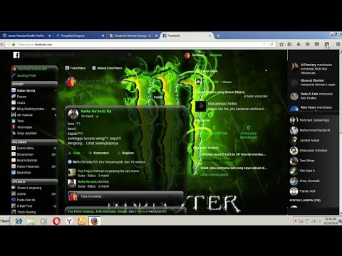 How to change theme facebook on mozilla firefox [ 1080 px ]