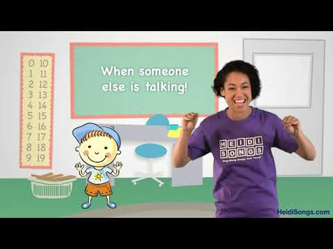 Interrupting Song | Music for Classroom Management