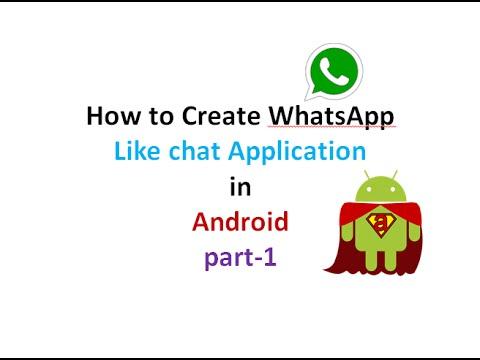 How to Create Chat Application like WhatsApp:part1 | ShoutCafe.com