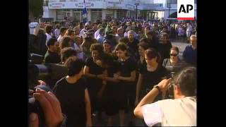 Cyprus - Funeral for Greek Cypriot protester