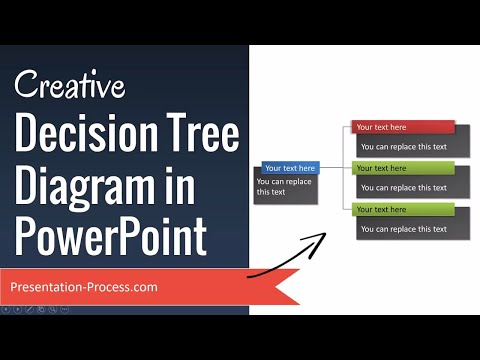 Creative Decision Tree Diagram in PowerPoint