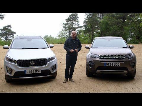Land Rover Discovery Sport vs Kia Sorento | TELEGRAPH CARS