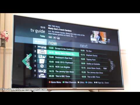 How to Use the Freeview Freetime Guide on a Panasonic TV