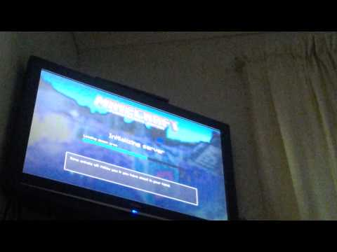 How to do minecraft ps3 split screen