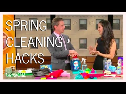 Cleaning Hacks & How To Remove Coffee Stains & Kitchen Grease (Breakfast Television)