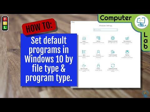 How To: Set default programs in Windows 10