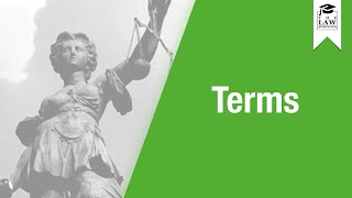 Download Contract Law - Terms Video