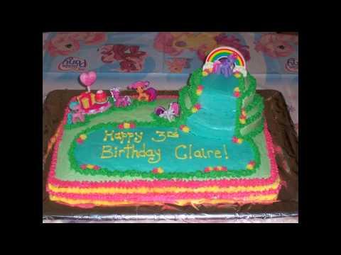 My little pony birthday cake decorations ideas