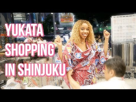 Yukata Shopping in TOKYO w/ Sophie from StagedFaces 👘