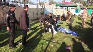 شهود عيان من موقع حادث غرق العبارة بالموصل: العبارة كانت تقل اكثر من 200 شخص ما ادى لانقلابها