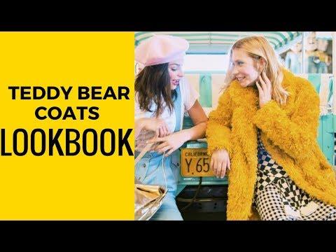 TEDDY BEAR COATS LOOKBOOK - Kara