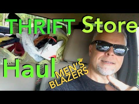 THRIFT STORE HAUL Men 2018 SELL Clothes on eBay MAKE MONEY THRIFTING