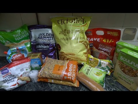 Big Bazaar Grocery Shopping Haul(Sabse Saste 5 Din Haul)Discount on Almost Everything 2018.