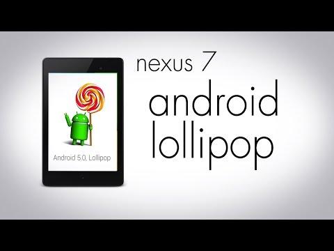 Android 5 Lollipop On The Nexus 7 (2013)