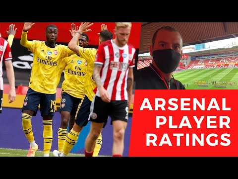 Sheffield United 1 Arsenal 2: Player ratings - Pepe and Tierney excellent, Kolasinac poor