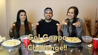 Gol Gappa Challenge!! | Pani Puri Challenge!!
