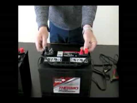 12 Volt Battery Charging Procedure