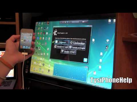 How to Jailbreak 4.3 iPhone 4, 3GS, iPod Touch 4G, 3G, and iPad on Windows (Tethered)