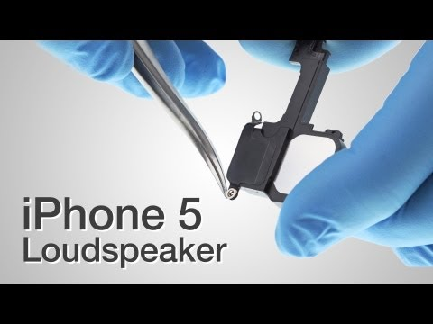 Loud Speaker Repair - iPhone 5 How to Tutorial